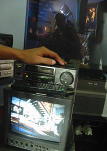 jen boxer | split watch on a tv shoot | Pasir Ris, Singapore