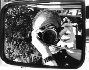 Joel Schilling | Side View Mirror Reflection | Amherst Massachusettes