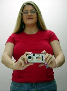 Kymberlie R. McGuire | Self Portrait with a New Camera | Houston, Texas