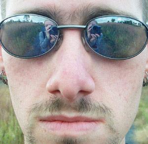 Stephanie Segall | Self-Portrait in my Husband's Face | Virginia, USA