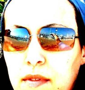 Gordana | Sunglasses and hands | Alameda, California