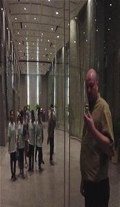 Roland Peschetz | the lobby of the abdulrahim building | bangkok