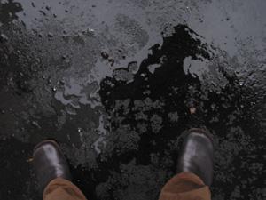 jen boxer | dark rain | Oxley Walk, Singapore