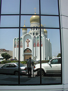 Denis Krylov | Cathedral and a bit of history | Geary Boulevard, San Francisco