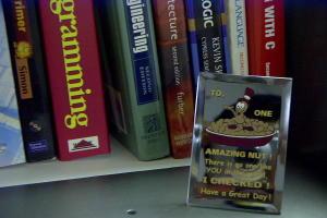 Shyamal Ramachandran | Amazing Nut | In my office. King of Prussia, PA.