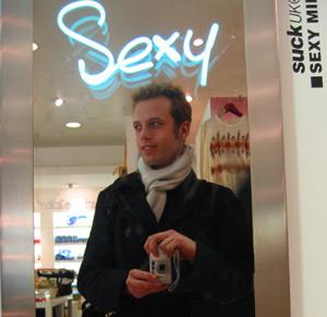 Tom Williams | Sexy | Selfridges, Oxford Street, London