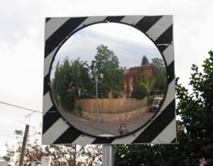 Jaime Golombek | Road Mirror | Hod Hasharon, Israel