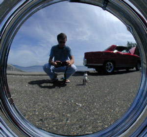 M. D. Murphy | The 16th Picture of Someone in a Hubcap | Seattle, WA
