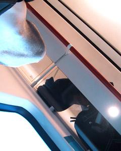 Pep Puertas | in the train | barcelona - spain