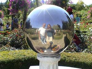 Erna | Mirror Ball | Bouchart Gardens, Vancouver