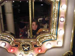Julie Quinn | On the carousel