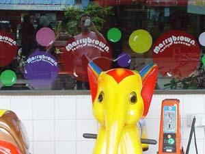 Andrea | outside MarryBrown | Johor, Malaysia