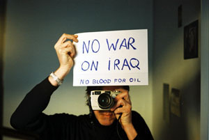 Balthusar Alvarez | No war on Iraq 1 | Oviedo, Northern Spain