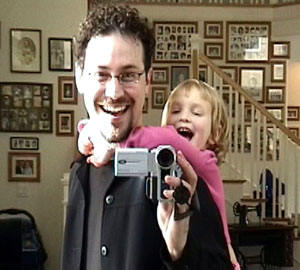 Derek Powazek | Me and Cousin Sarah | San Diego, CA