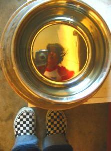 flora | canine bowl | garage-home-oc