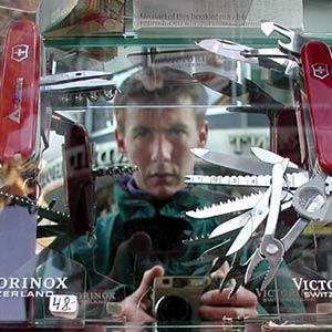 Philip Howells | Swiss Army Knives | Interlaken, Switzerland