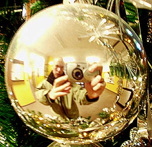 Piotrek Pecherz | xmas portrait | in t-15's hall,  wroclaw, poland