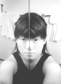 Akiko Sato | distortion | in my bathroom, Santa Monica, CA