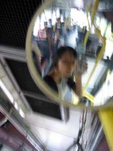 Jasmin Wong | Blurry Bus | Bus no. 12, Singapore