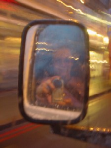 Jane Monelly | In transit | Somewhere round Croydon, England