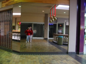 Doris Darrow | Empty Mall at  Xmas | Sunnyvale, CA