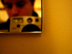julian | the bathroom mirror | Somerset, England