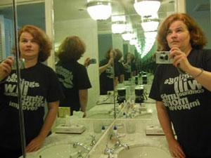 Elke Sisco | The Beatings Continue Endlessly | Hotel bathroom, Pismo Beach, CA