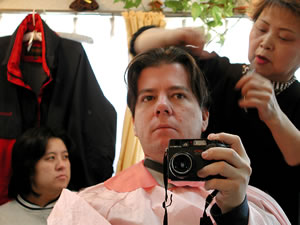 Kurt Easterwood | Haircut reflection | Warabi, Japan