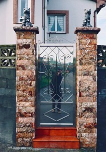 Balthusar Alvarez | Reflection on a gate | Oviedo - where else! -Northern Spain