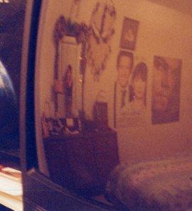 Alisha Hime | Bedroom Mirror | Barksdale, Louisiana
