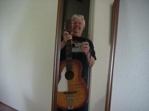 Ginny  Specht | Ginn  and Guitar | In the woods of Oregon