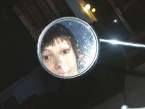 Jenny Sigler | vespa mirror | Dayton, OH