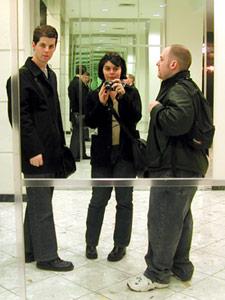 Mena Trott | Post-Milkshake Mirror Shot | Chicago, IL