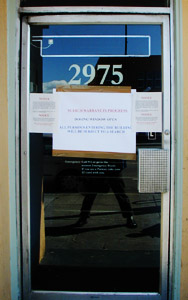 Paul Marcus   Up Against The Door, M*F*!   Berkeley, California, USA