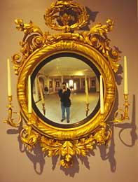 Karl Winkler | Guilded Mirror | New York