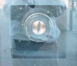 junnie | Giant Camera Lens Takes My Pic | Vevey, Switzerland