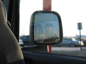 Jessi Terrell | Jeep mirror #1 | West Lafayette, IN
