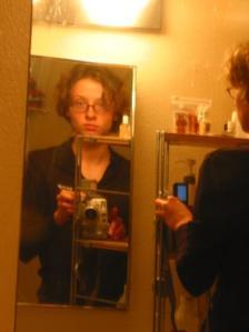 Jen | Two mirrors are twice the fun | San Francisco