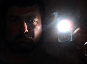 Todd W. | Dark in mirror | downstairs ;)