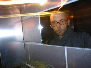 Moby | Self portrait in bathroom