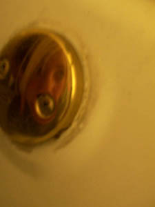 Sarah Ause | the overflow drain of a bathtub | phoenix, az
