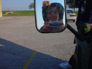 Ching | Sideview Mirror of the M16A1 | Cessna Activities Center -- Wichita, KS