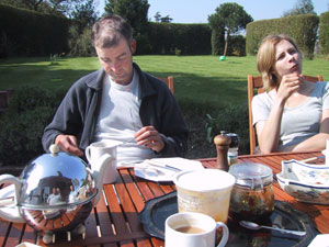Philippe Chandless | (Petit) Dejeuner sur l'herbe | Selmeston, England