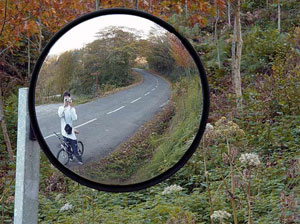I�aki | forest road | Basque Country