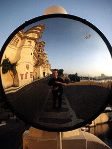 Francois Barbut | Maharaja's mirror | Udaipur - INDIA