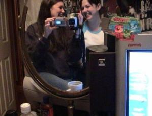 heidi | laughing mirror | Cape Cod, MA