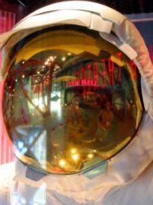 Richard Giles | Space Suit Self Portrait. | Kennedy Space Center