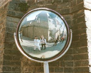 Ed de Guzman   mirror mirror on the wall   Great Wall, Beijing, China
