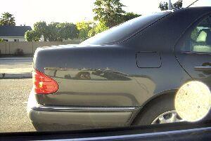 Cynthia | Stopped at the Light | Capitol Expressway, San Jose, California