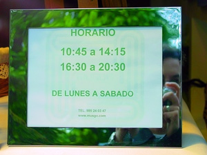 Fer | Timetable | Aviles(Planeta Asturias),North of Spain